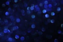 Vage blauwe hexagon bokeh abstracte achtergrond voor ontwerp vector illustratie