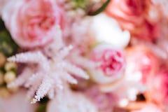 Vage bloemen kleurrijke achtergrond royalty-vrije stock foto