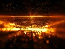 Vage fractal achtergrond - abstract digitaal geproduceerd beeld Royalty-vrije Stock Afbeelding