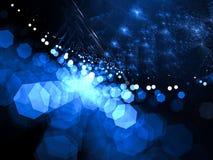 Vage fractal achtergrond - abstract digitaal geproduceerd beeld Royalty-vrije Stock Foto