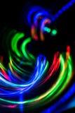 Vage futuristische abstracte achtergrond Royalty-vrije Stock Fotografie