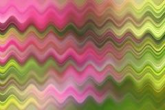 Vage golflijn, kleurrijke abstracte achtergrond Stock Afbeeldingen
