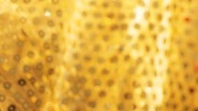 Vage gouden doekachtergrond Royalty-vrije Stock Foto's