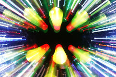 Vage laser discoball royalty-vrije stock afbeelding
