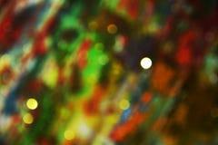 Vage lichten in pastelkleur kleurrijke tinten, achtergrond, bokeh Stock Fotografie