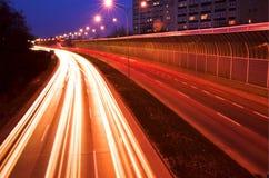 Vage verkeerslichten Stock Foto's