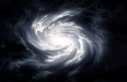 Vage Wervelwind in de Wolken stock afbeeldingen