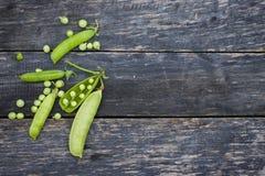 Vagens de ervilhas verdes Imagem de Stock Royalty Free