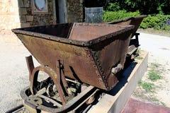 Vagões de oxidado Imagens de Stock