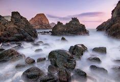 Vagga av den Telawas stranden Royaltyfria Foton
