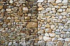 Vagga bakgrund för stenväggen Royaltyfria Foton