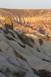 Vagga berget i Cappadocia royaltyfri fotografi