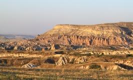 Vagga berget i Cappadocia arkivfoto
