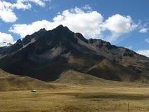 Vagga berget i Peru Arkivfoto
