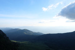 Vagga berget i Thailand, ljus Arkivbild
