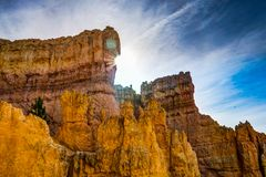 Vagga bildande Bryce Canyon i Utah Amerikas förenta stater Arkivbilder