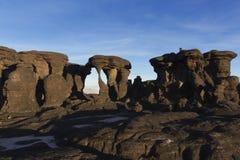 Vagga bildande, monteringen Roraima arkivbilder