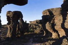 Vagga bildande, monteringen Roraima royaltyfri bild