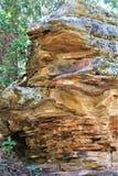 Vagga bildande på träkanjon sjön, Coconino County, Arizona, Förenta staterna fotografering för bildbyråer