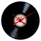 Vagga den rekord- klockaframsidan Arkivfoto