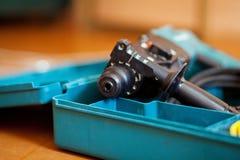 Vagga drillborren Fotografering för Bildbyråer