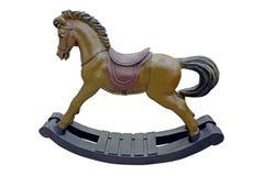 Vagga hästen Arkivfoto