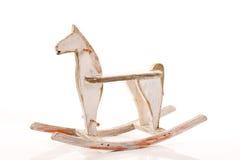 Vagga hästen arkivbilder