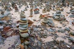 Vagga högar, den stora havvägen, Victoria, Australien Royaltyfri Fotografi