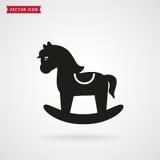 Vagga hästsymbolen Royaltyfri Bild