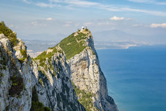 Vagga i Gibraltar Fotografering för Bildbyråer