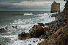 Vagga i havet Arkivbilder
