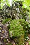 Vagga jäkelfingret i Kaukasus berg Royaltyfria Bilder