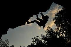Vagga klättringen i Ukraina Royaltyfri Fotografi