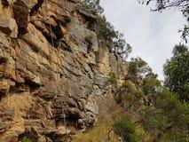 Vagga klättringklippan arkivfoto