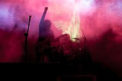 Vagga konserten arkivbilder