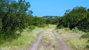 Vagga landsvägen arkivfoto