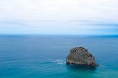 Vagga och havet Royaltyfria Bilder