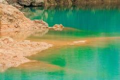 Vagga och mineral Arkivbild