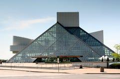 Vagga - och - rulla Hall av berömmelse och museet Royaltyfri Fotografi