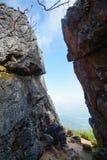 Vagga på Pha Tung Mountain, Chiang Rai, Thailand Royaltyfri Fotografi