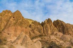 Vagga platser av Cappadocia, Kapadokya, Turkiet Royaltyfri Bild