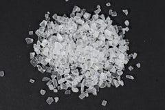 Vagga salta kristaller Arkivbild