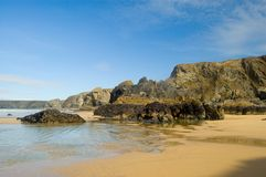 vagga sandhavet royaltyfri bild