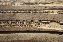 Vagga-snitt gravvalv i Myra, Demre, Turkiet, plats 7 Royaltyfri Foto