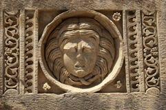 Vagga-snitt gravvalv i Myra, Demre, Turkiet, plats 9 Royaltyfri Fotografi