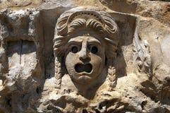 Vagga-snitt gravvalv i Myra, Demre, Turkiet, plats 10 Arkivbilder