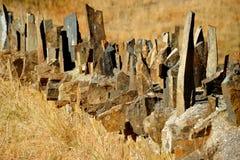 Vagga staketet Arkivfoton