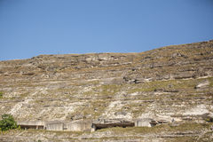 Vagga stenen Arkivbild