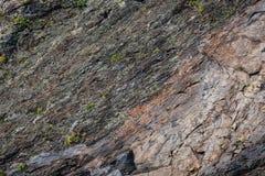 Vagga textur av berget, väggstenbakgrund arkivbild