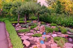 Vagga trädgården Royaltyfria Foton